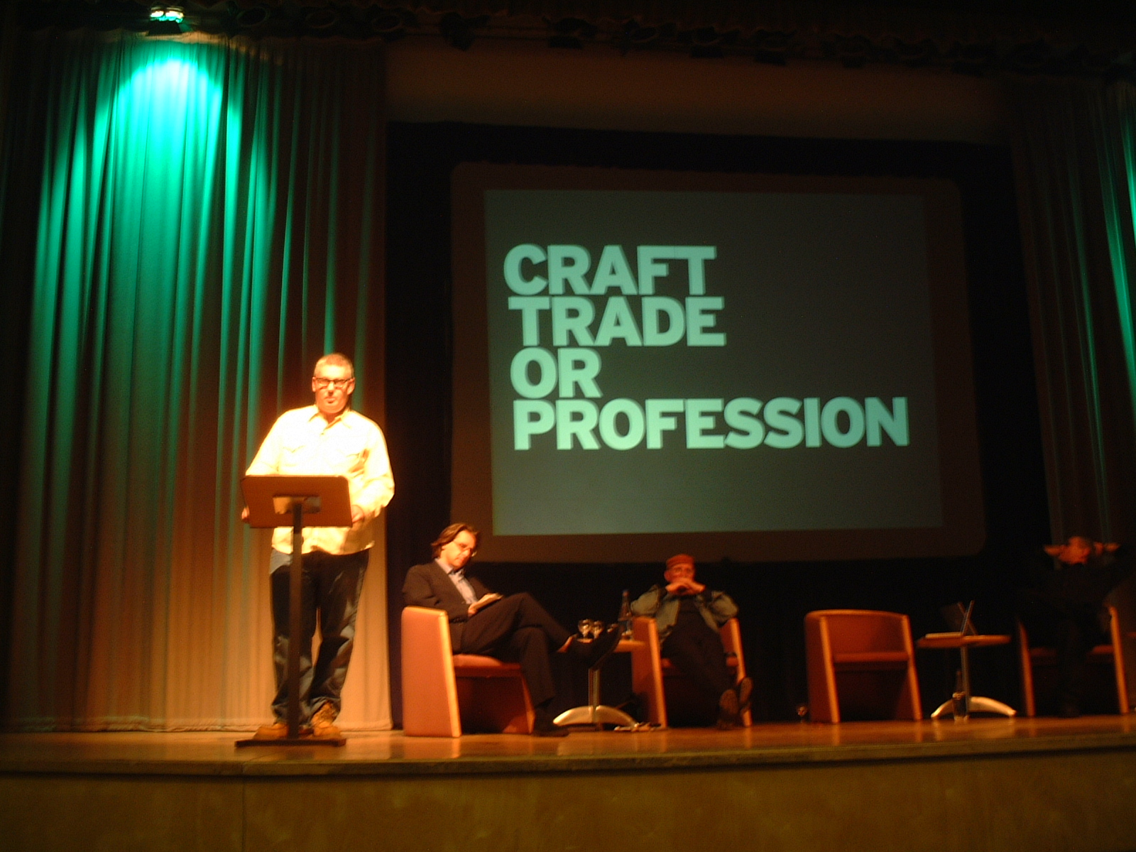 D&AD President�s Forum debate: Is Ethical Design and Advertising Possible? 28 October 2003, Logan Hall